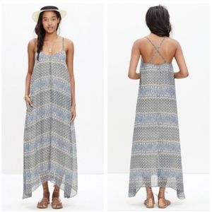 Madewell Moroccan tile maxi dress xs